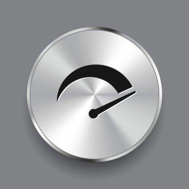 Pictograph of speedometer icon