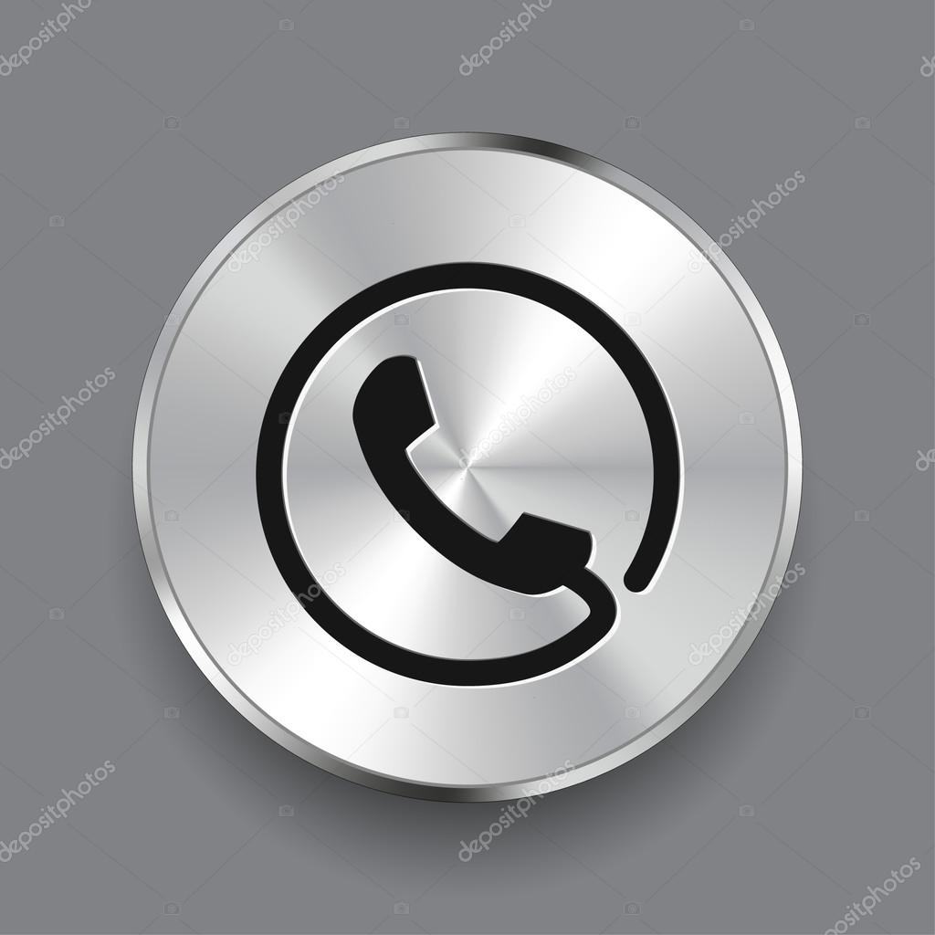 Pictograph of phone icon