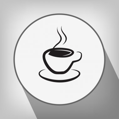 Pictograph of cup icon