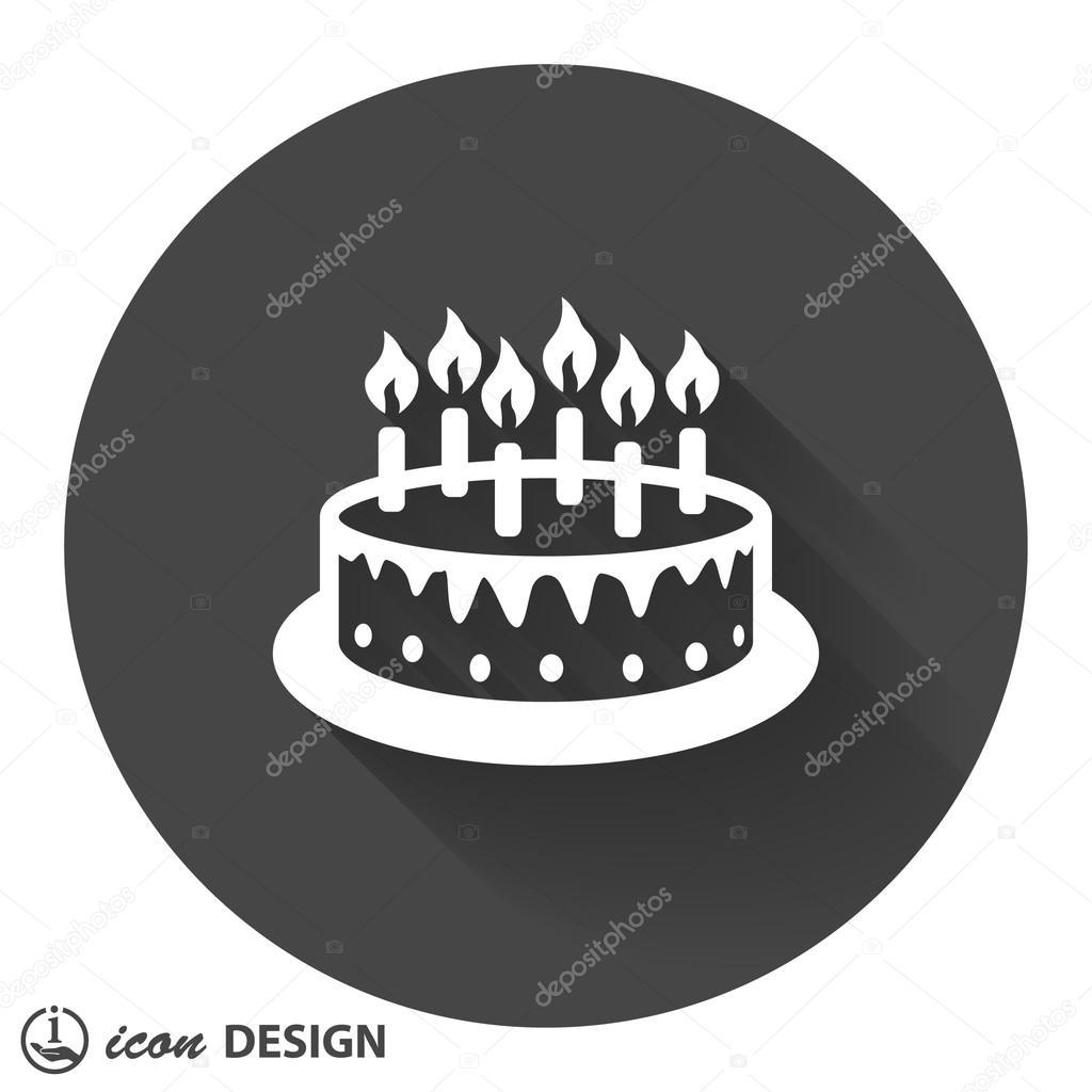 Piktogramm Kuchen Icon Stockvektor C Hristianin 85196300