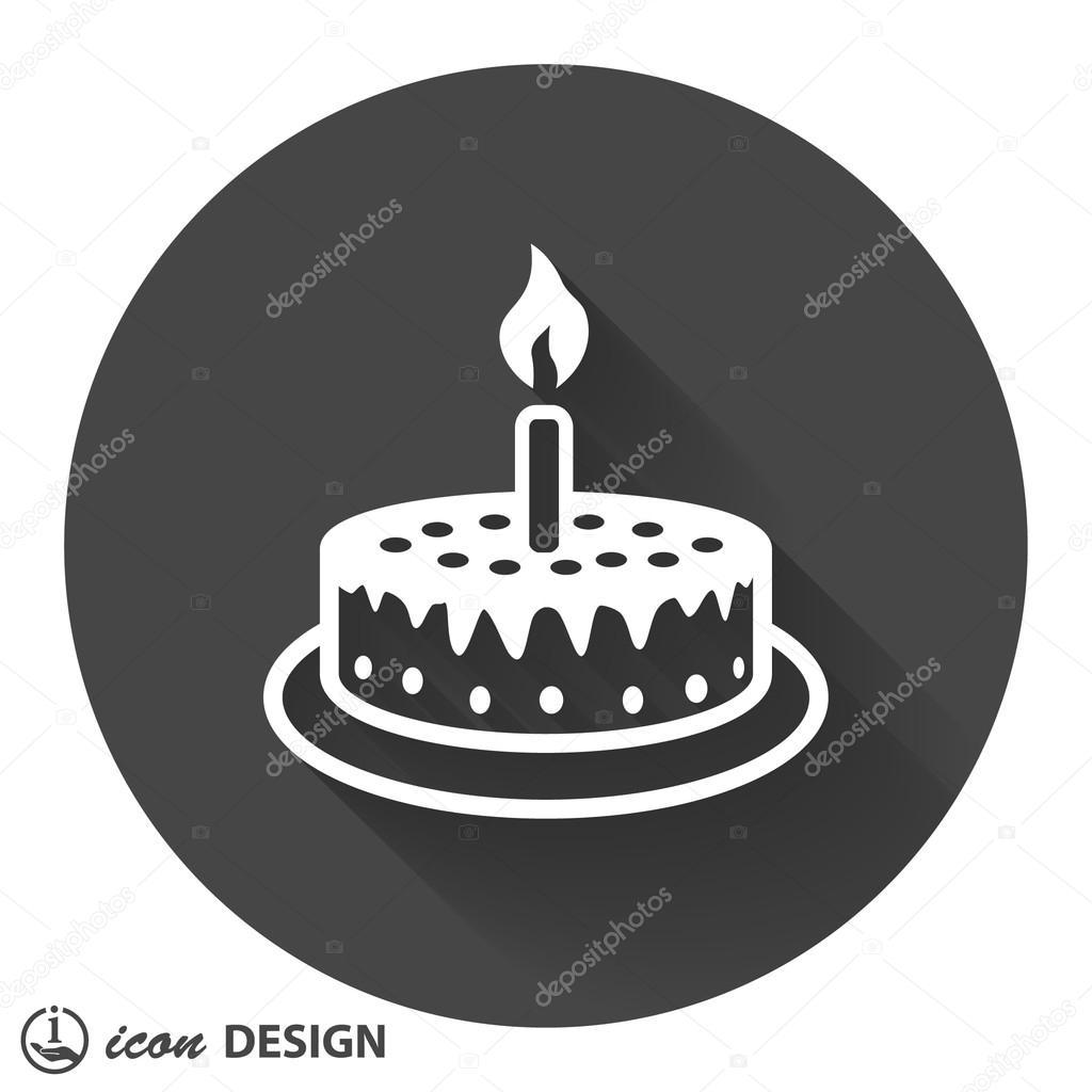 Piktogramm Kuchen Icon Stockvektor C Hristianin 85196334