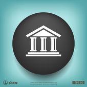 Banka plochý design ikony