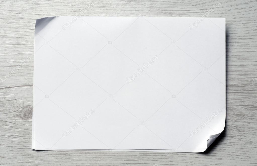 blank piece of paper stock photo markop 51812179