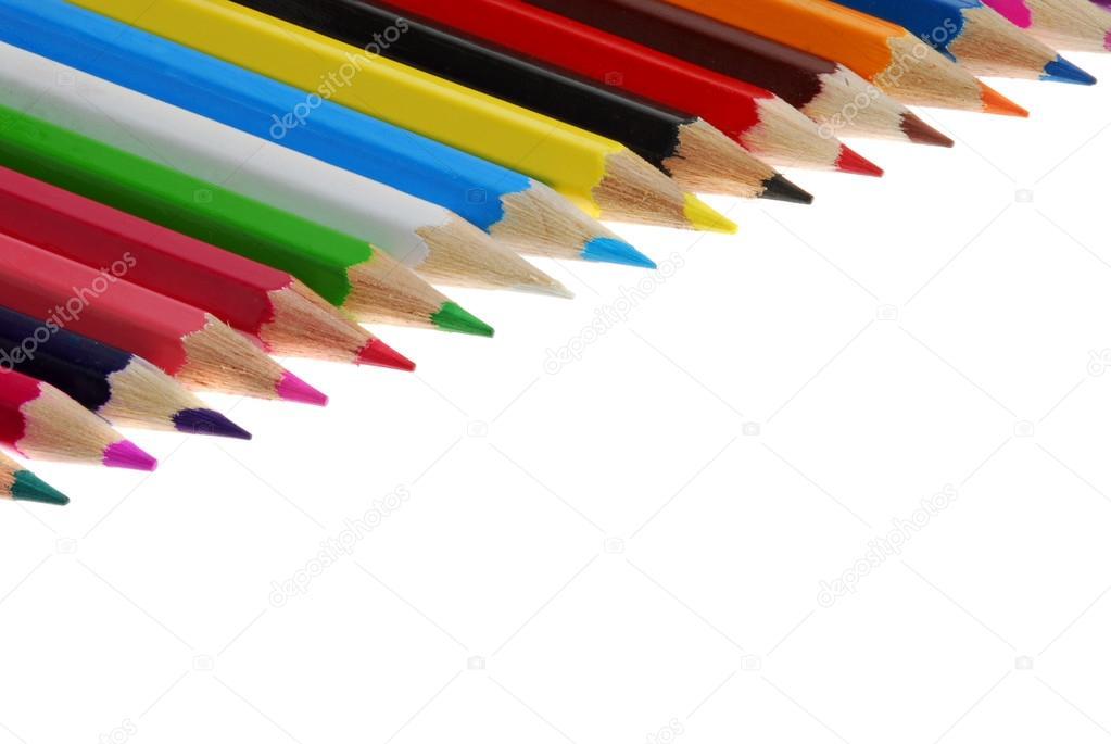 Coloring crayon pencils — Stock Photo © markop #54138541