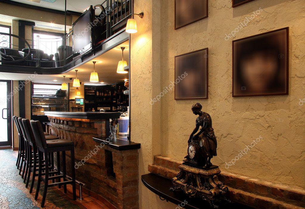 Gemütliches Café-Interieur — Stockfoto © markop #59858851