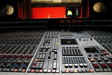 Professional music studio