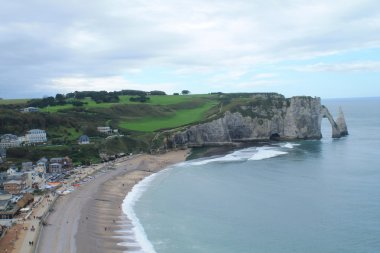 Etretats and its cliffs, France