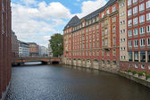 Kanály a sídlí v Hamburku, Německo