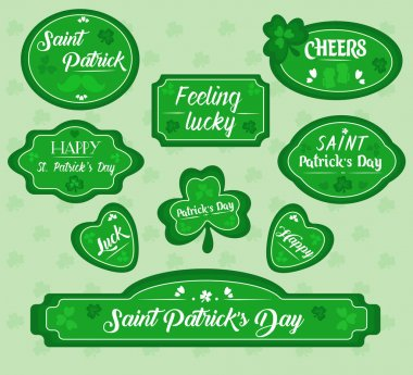 St. Patrick's Day invitation concept. Vector illustration in flat style. icon