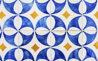 Patterned tiles in Lisbon