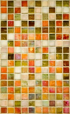 Colorful marble tiles