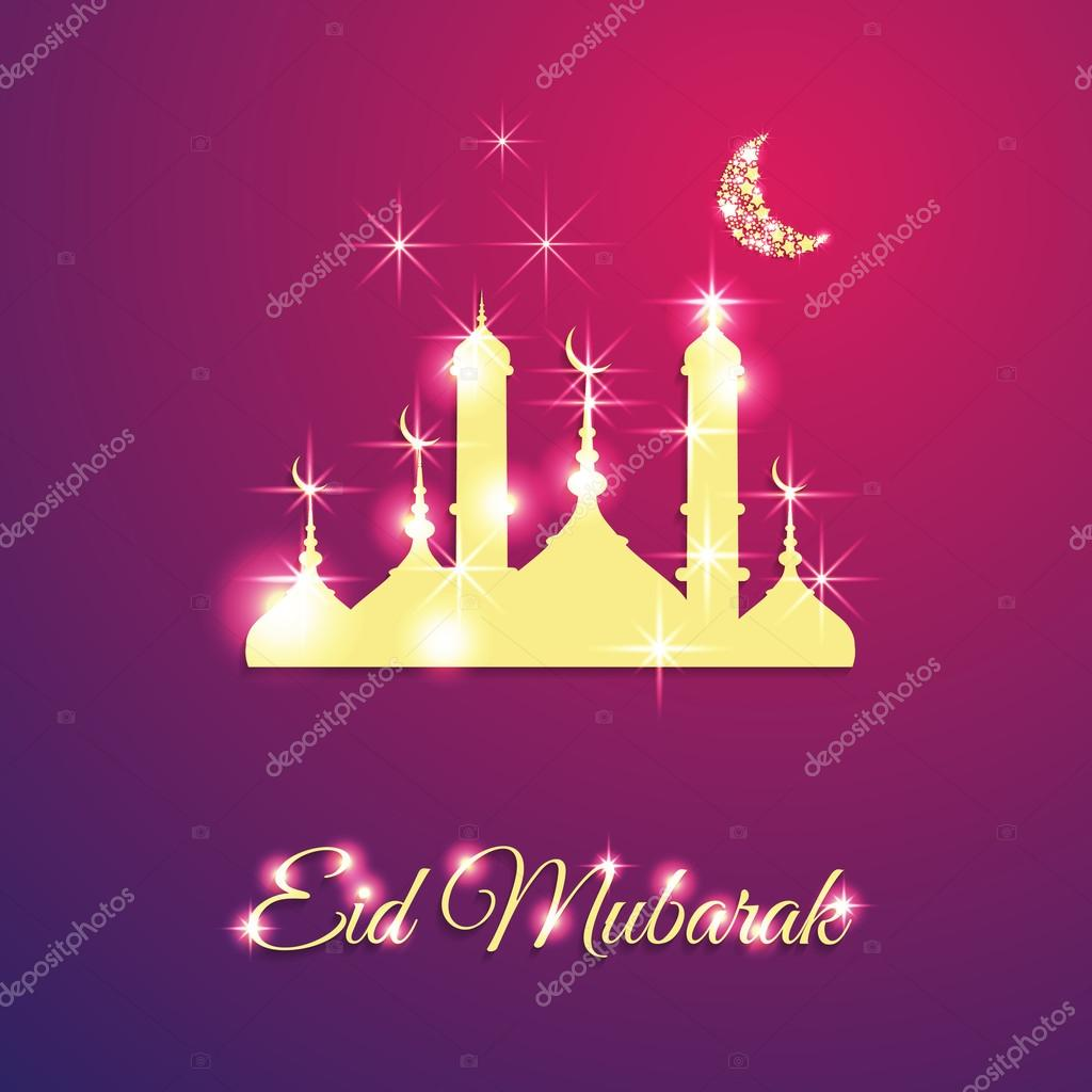 Simple Moon Star Light Eid Al-Fitr Decorations - depositphotos_77046045-stock-illustration-muslim-community-festival-eid-mubarak  Graphic_22294 .jpg