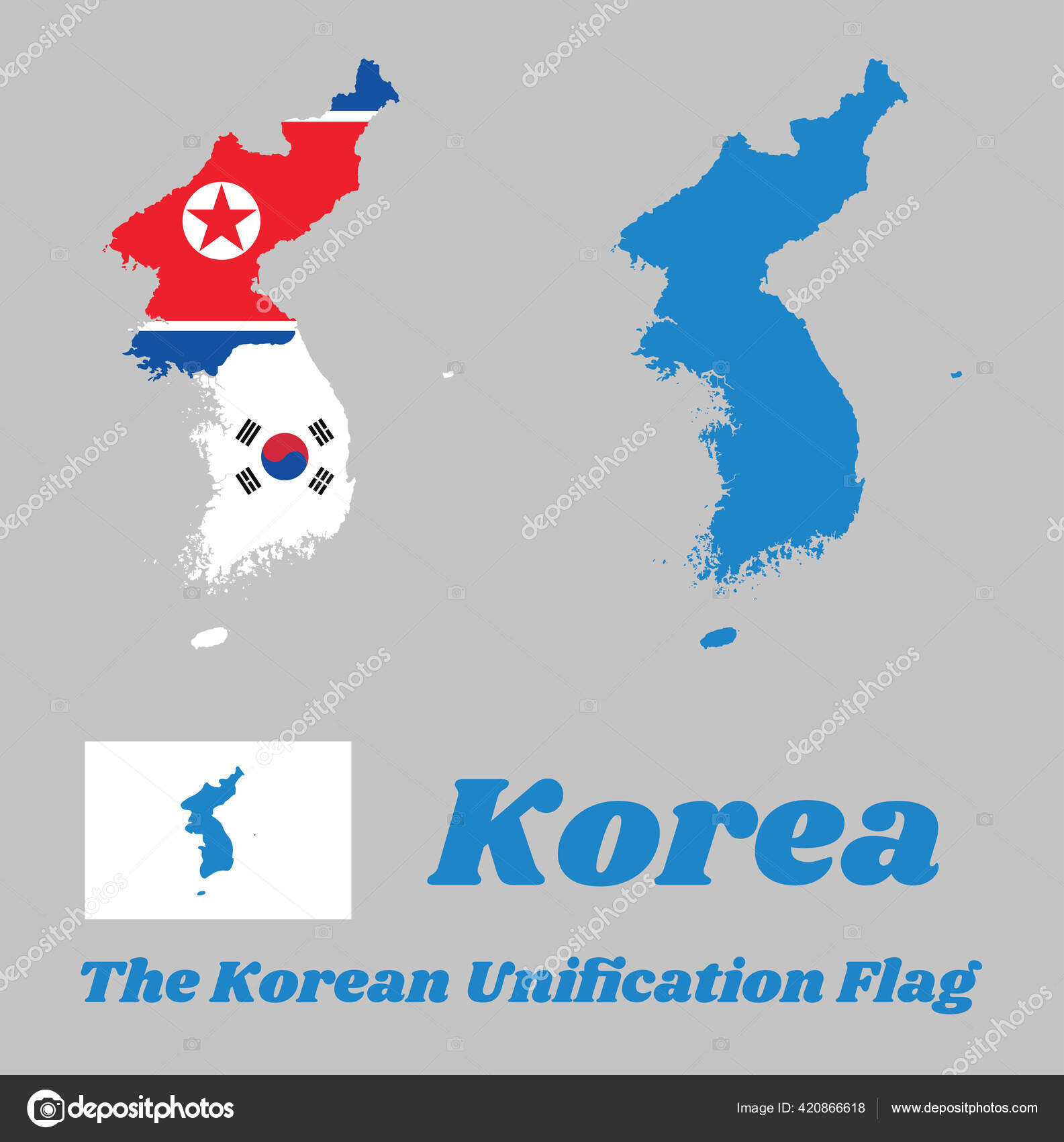 Korean Peninsula Stock Vectors Royalty Free Korean Peninsula Illustrations Depositphotos
