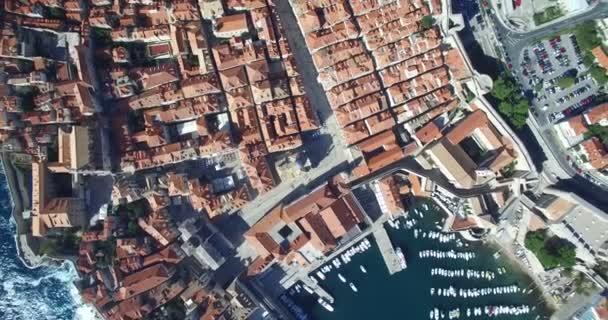 Letecký pohled na staré město Dubrovník