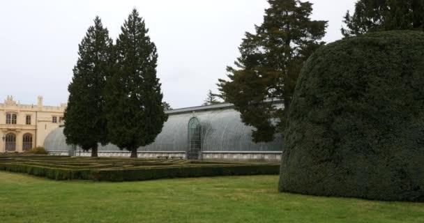 Pohled na lednickém zámku v České republice