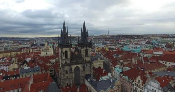 Letecký pohled na prahu, Česká republika