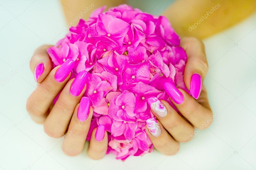 Color De Uñas Para Primavera Fotos De Stock Pmmart