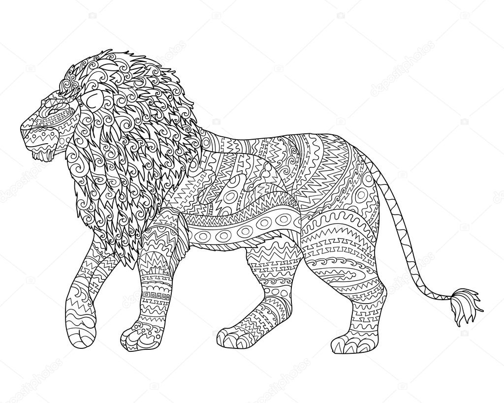 Áˆ Outline Lion Stock Drawings Royalty Free Lion Outline Pictures Download On Depositphotos Free & premium lion outline stock photos, illustrations, vectors, templates and psd mockups. https depositphotos com 106690426 stock illustration adult coloring page for antistress html