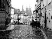 černá a bílá Foto Praha