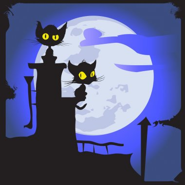 Cats on the moon.