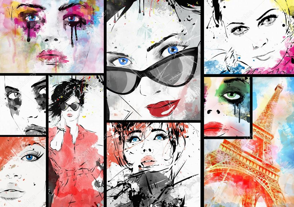 Beautiful collage