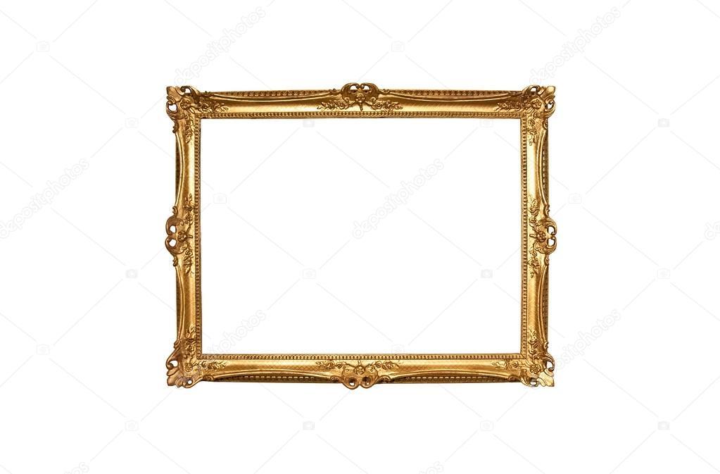 marco de oro de la pintura madera — Foto de stock © Reflexview #75752879
