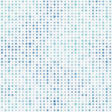 Multicolor polka dots seamless pattern.