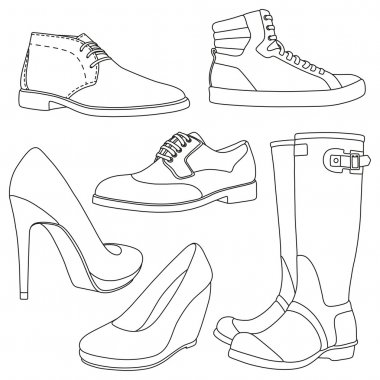 Set of shoes