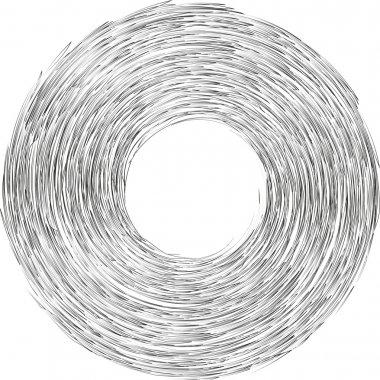 Vortex strokes circle