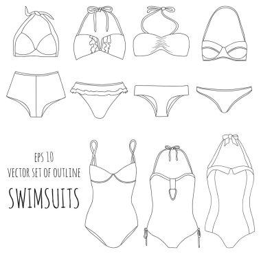 Different swimwear