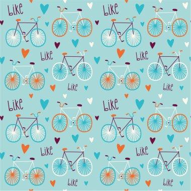 bicycles  pattern