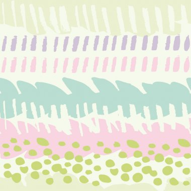Multicolor painted seamless pattern