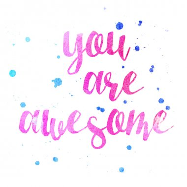 You Are Awesome Inspire poster