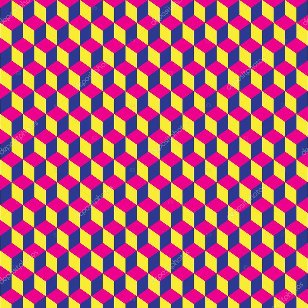 Vector abstracto 3d cubos geom tricos fondo para su uso en for Disenos de fondos