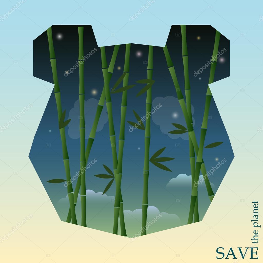 Koncepcyjna Ilustracja Na Temat Ochrony Przyrody I Zwierząt