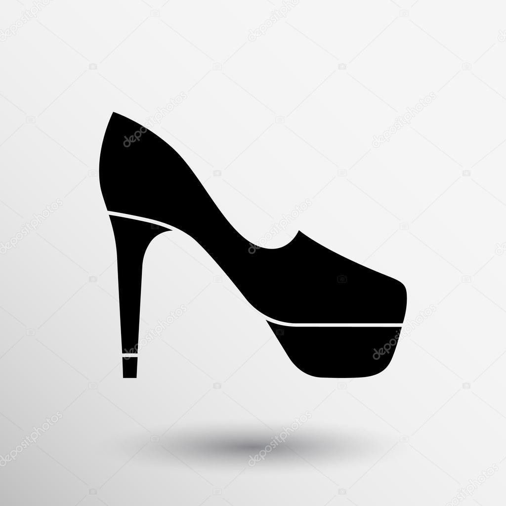 Tacco Scarpe Icona Silhouette Alto Scarpa Donna Logo Elegante qq8r5W