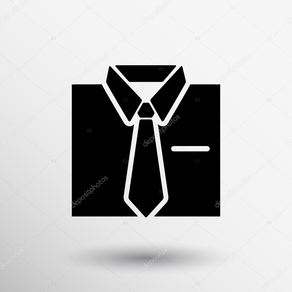 Shirt and tie icon suit men formal business logo stock vector shirt and tie icon suit men formal business logo stock vector publicscrutiny Gallery
