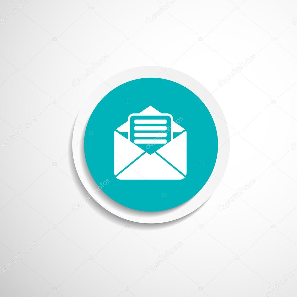 Briefumschlag Symbol Brief Post E Mail Umschlag Stockvektor