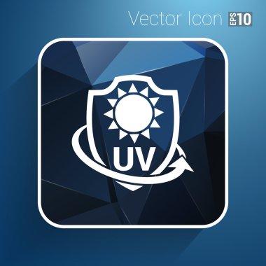 Icon, Label or Sticker Anti UV protection
