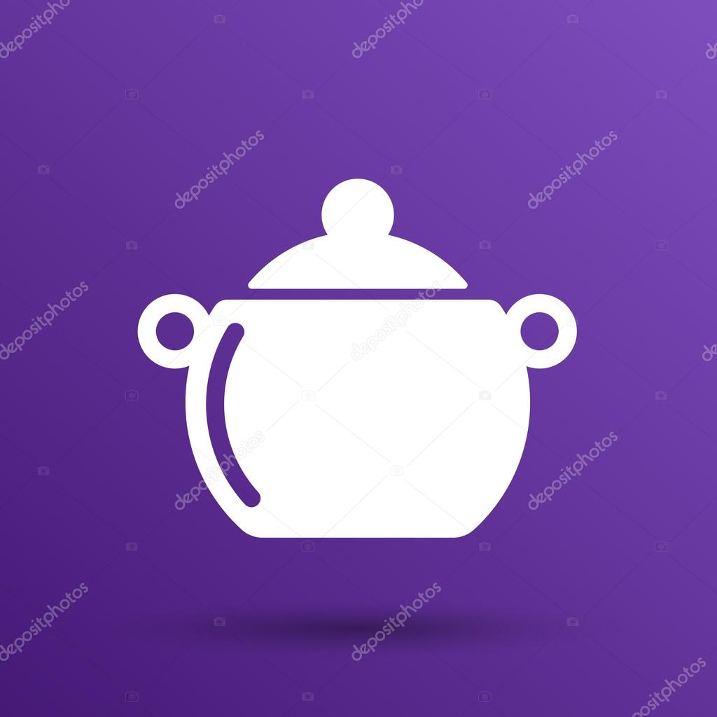 Patelnia Jedzenie Menu Kuchnia Zupa Garnek Wektor Projekt