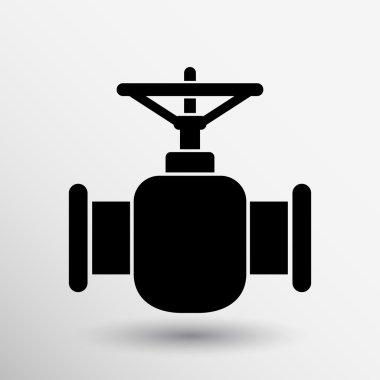 pipeline icon vector button logo symbol concept