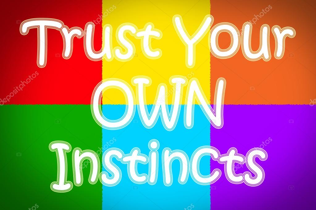 Image result for trust your instinct clipart