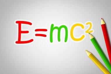 Albert Einsteins Physical Formula Concept