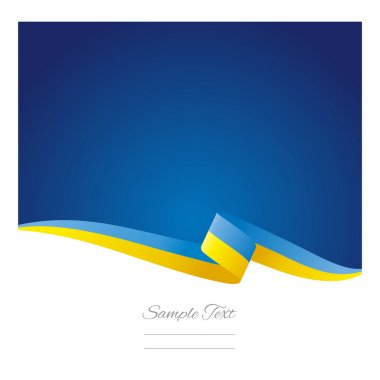 Abstract color background Ukrainian flag