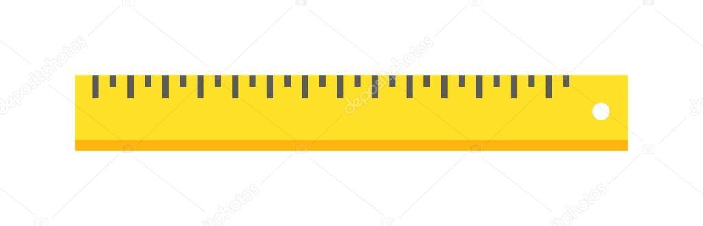 ruler tool flat icon vector illustration on white background rh depositphotos com ruler vector cm ruler vector cm