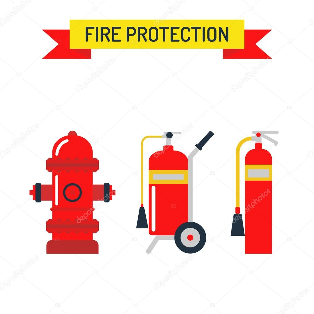 Red fire hydrant emergency department flat vector illustration red fire hydrant security tool and red fire hydrant street symbol red fire hydrant emergency department flat vector illustration isolated on white vector buycottarizona Images