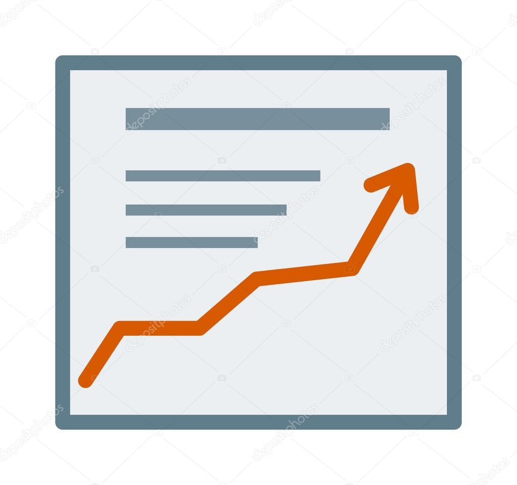 Vector icon growth report diagram chart business financial success vector icon growth report diagram chart business financial success statistic vetor de stock ccuart Choice Image