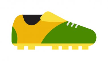 Football boots vector illustration.