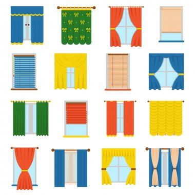 Vector collection blinds.