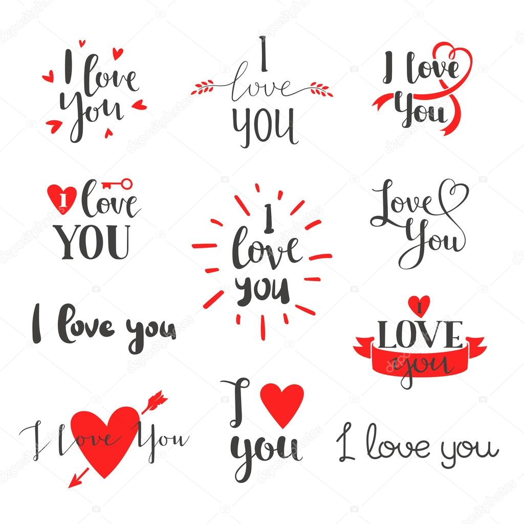 I Love You: Stock Vector © Adekvat #115139260
